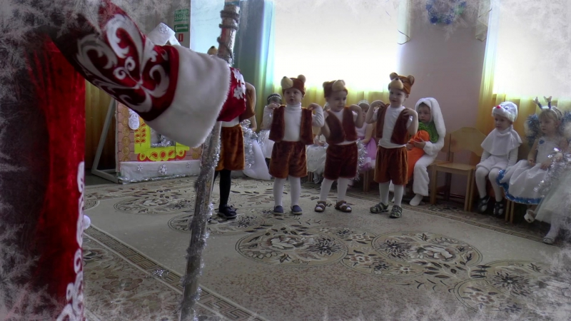 Новогодний праздник в детском саду № 23 с.Татарка