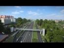 Визуализация автодороги по ул. Волочаевской