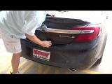 Silicone Roofing Coating Overspray Removal  2017 Buick Regal  National Overspray Removal Services
