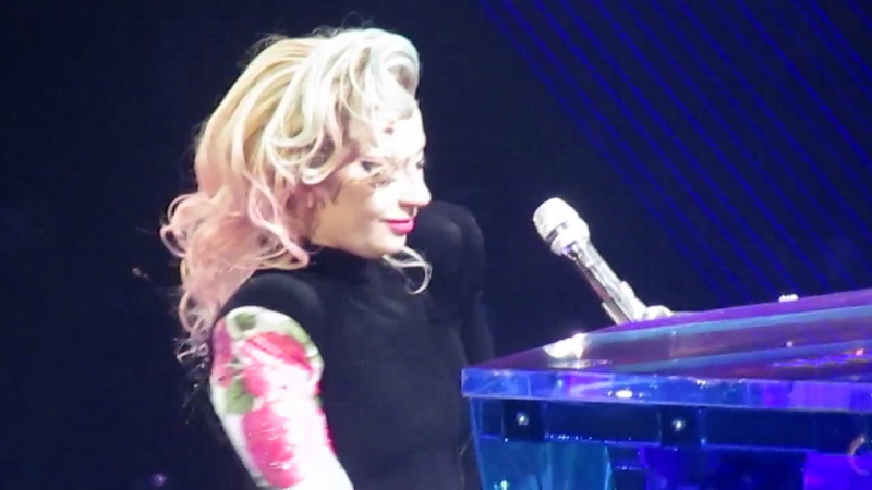 Lady Gaga Speech The Edge of Glory Live @ Joanne World Tour Милан Италия 18 01 2018