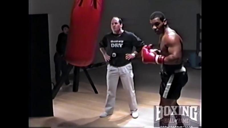 Редкое видео. Майк Тайсон и Кевин Руни, тренировки.