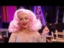 Christina Aguilera Surprises Farrah Moan During Untucked - RuPauls Drag Race Season 10