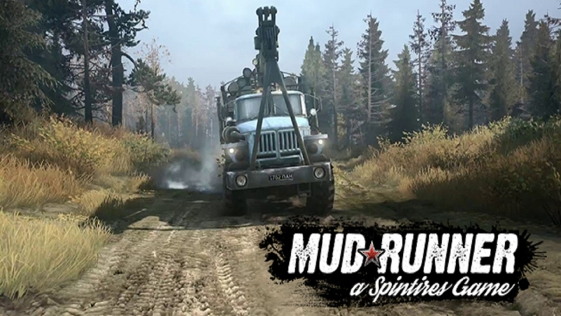 Стрим 14 по Spintires MudRunner Multiplayer карта Мещерский регион Meshera region