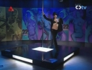 STRIPTEASE - TV - ALEXA pole strip dance in black suit [Catala Tv 26.11.06 - Spa]