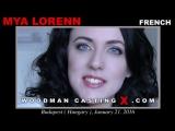 На кастинге Вудмана Woodman Casting Mya Lorenn, Leyla Bentho 2018 DP, Anal, Foursome, MMFF, Ass Licking, Big Tits
