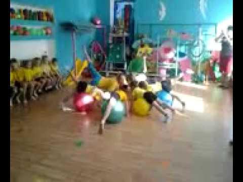 Фитбол-Гимнастика для детей дошкольного возраста