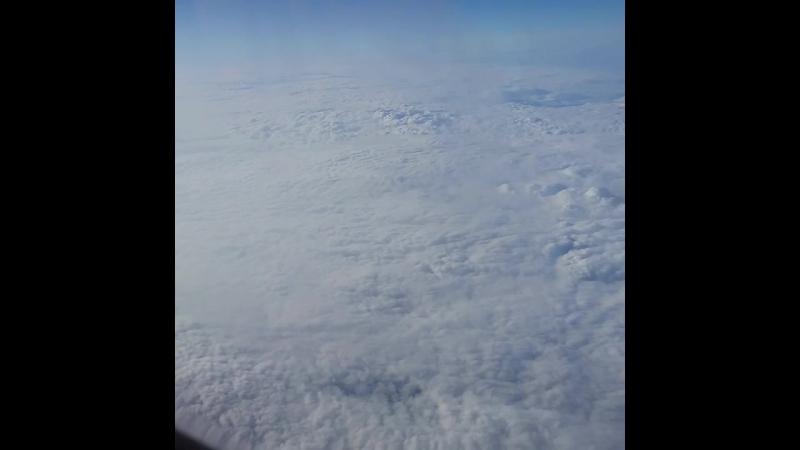 12000км. Над Землей. Выше облаков✈☁🌈