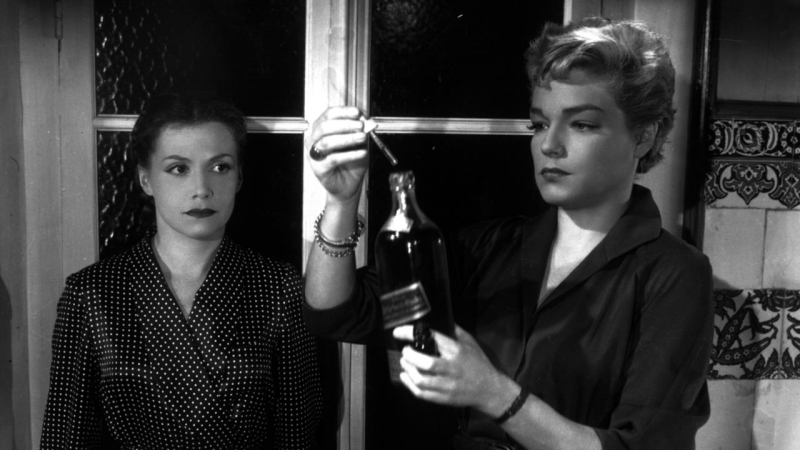 Дьяволицы / Diabolique / Les Diaboliques (Анри-Жорж Клузо / Henri-Georges Clouzot) [1954, Франция, триллер, драма, детектив]