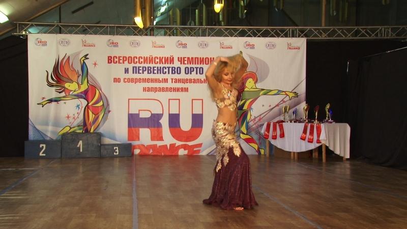 Чемпионат и Первенство России 2018 Orental сеньоры - Ирина Бодина, 1 место