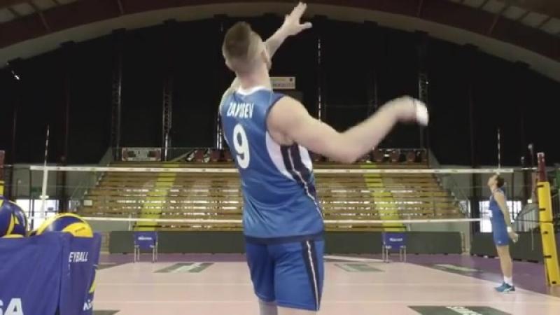 Иван Зайцев и Алесандр Атанасьевич Лига Наций 2018