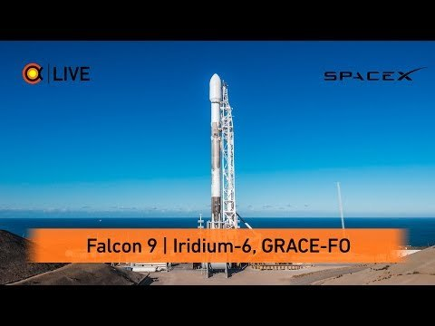 Трансляция пуска Falcon 9 (Iridium-6 GRACE-FO)