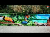 Street-Art пляж Прометей, п. Небуг