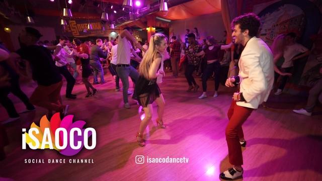 Sergey Gazaryan and Tatyana Rakhmetulova Salsa Dancing in Respublica Vosmera, Sunday 29.04.2018