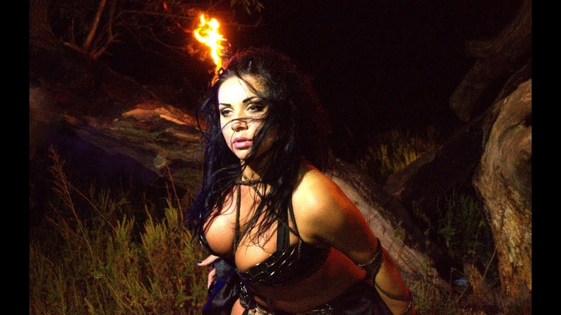 Diana Bastet Metal Bellydance. Sepultura Ratamahatta