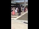 Airport 180811 @ Прибытие fromis_9 в LAX Arrival