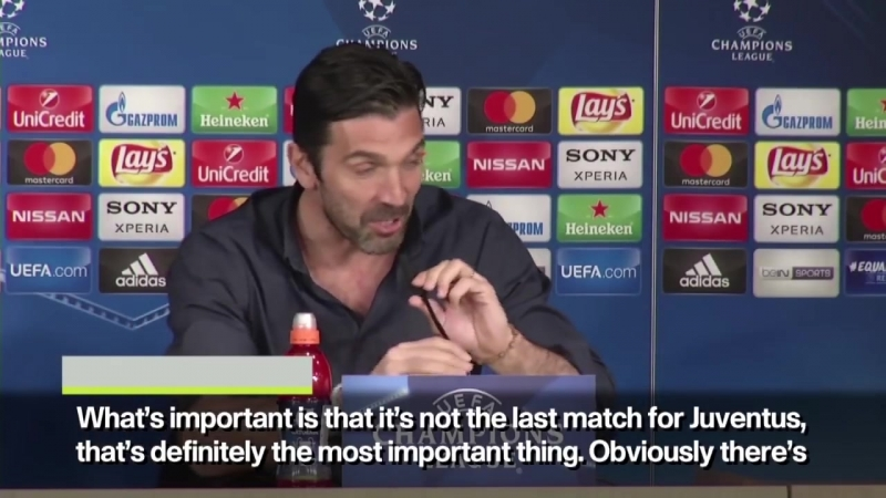 Buffon_ I would be happy to know Ill end my UCL career at Bernabeu as a child ESPN FC