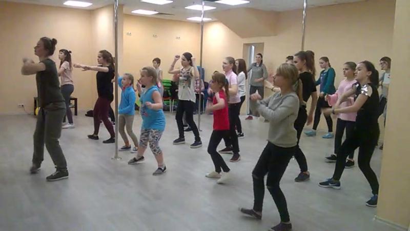 Танцы Хип Хоп Наро-Фоминск - первое занятие.