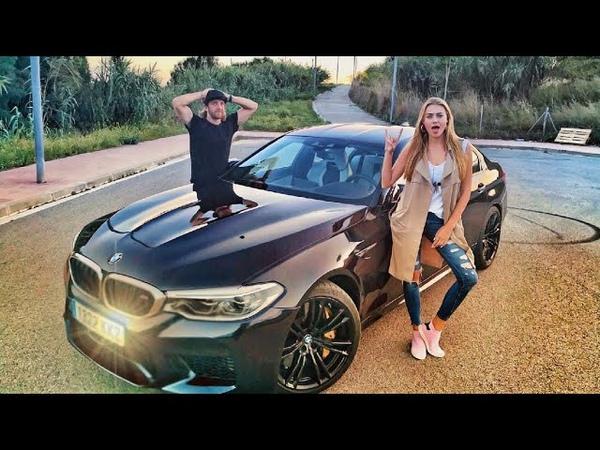 IMPRESIONANTE BMW M5 CON 600CV   DittaMoon Dani Clos