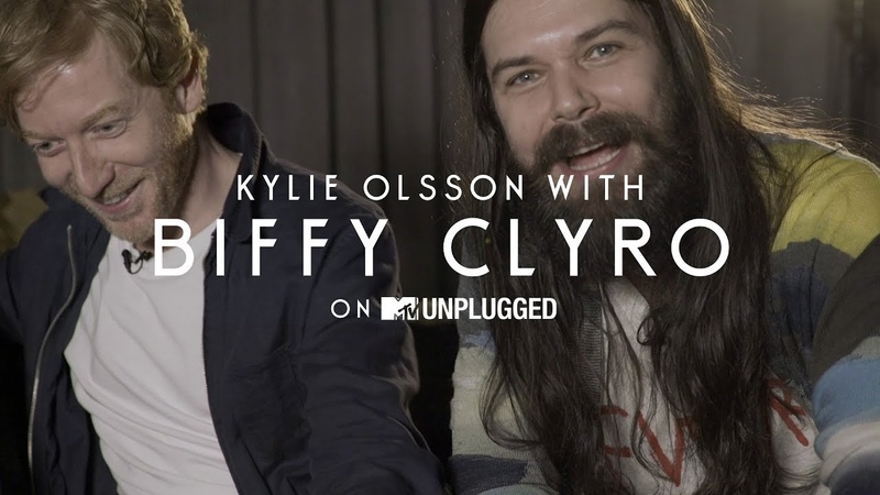 Biffy Clyro Interview with Kylie Olsson MTV Unplugged Exclusive