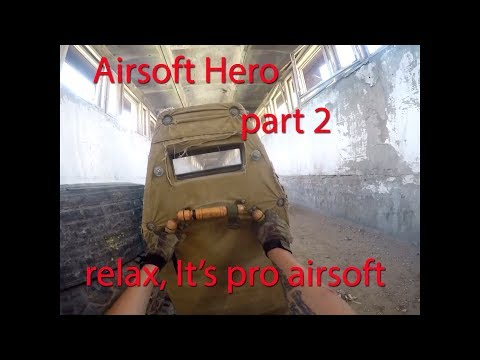 Страйкбольная жаркая воскреска   Airsoft Hero part 2