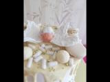 Нежный тортик на крещение малышки Златы.mp4