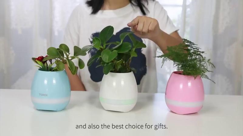 Умный горшок для растений SMART MUSIC FLOWERPOT