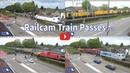 RailCam Train passes 60 April 2018 Part 6