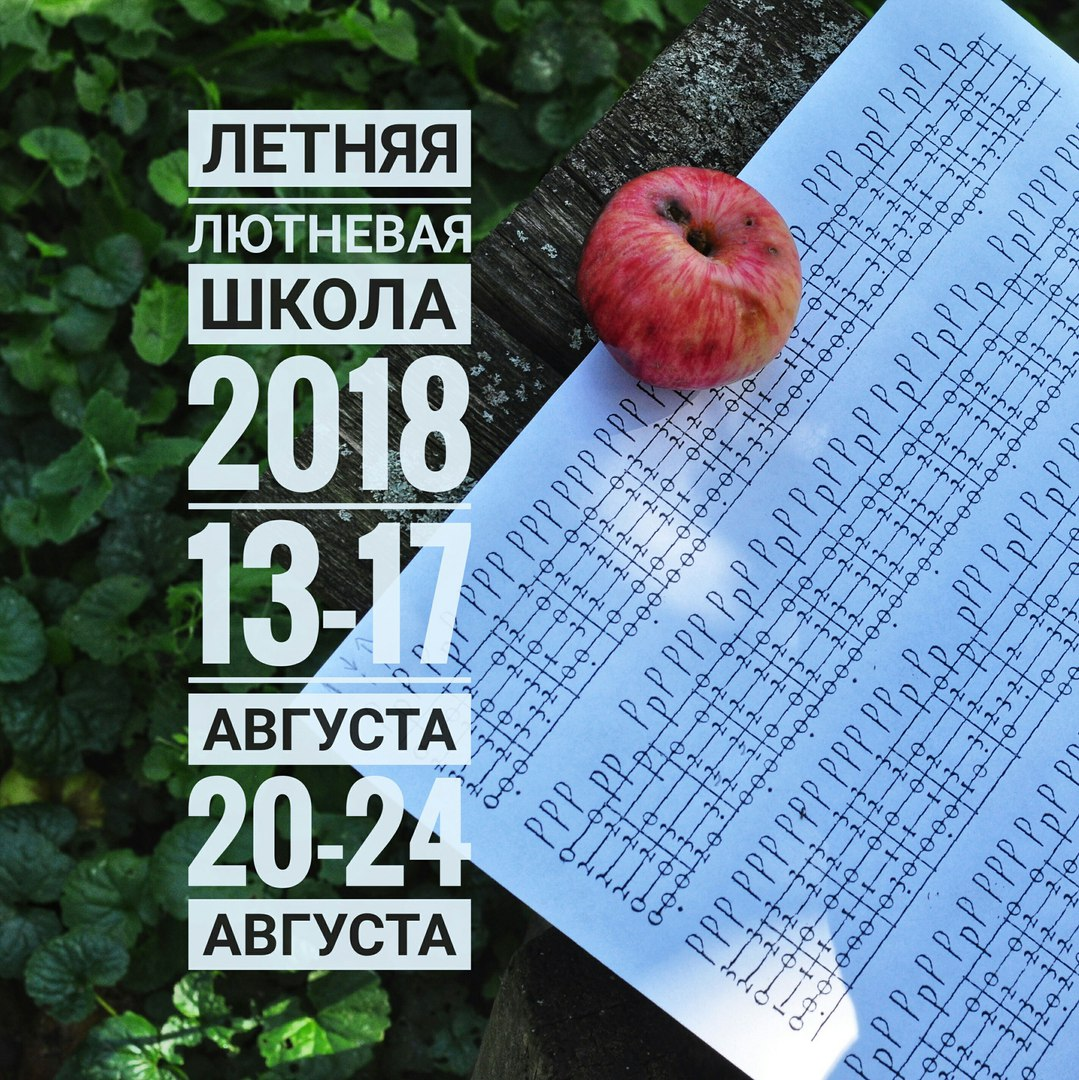 Афиша Муром Летняя Лютневая Школа 2018