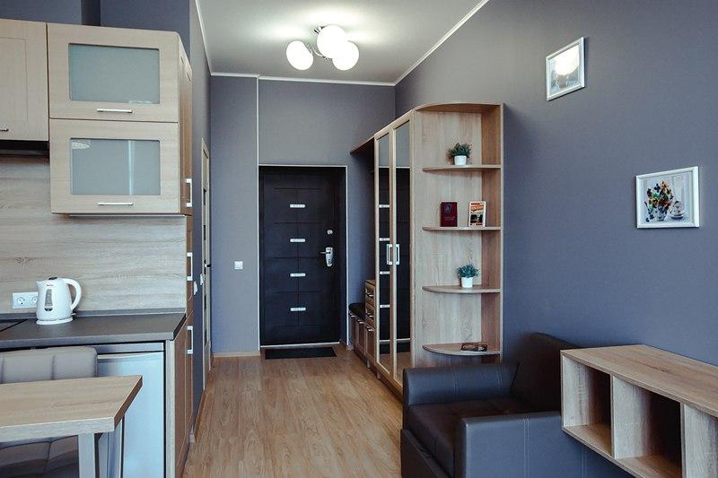 Квартира-студия 34 м в Светлогорске.