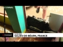 Fransanın güney batısını sel suları bastı