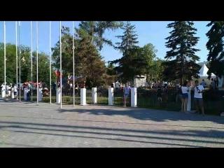 Стрим 63.ru: фан-зона в Самаре перед матчем Уругвай — Россия