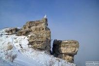 24 февраля 2018  - Туманный вид с горы Могутовой на Моркваши в Жигулевске