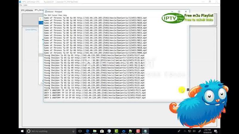 Urlchecker V4.1 Проверка ссылок iptv, конвертирование IPTV-плавников и выведение рабочих линий m3u