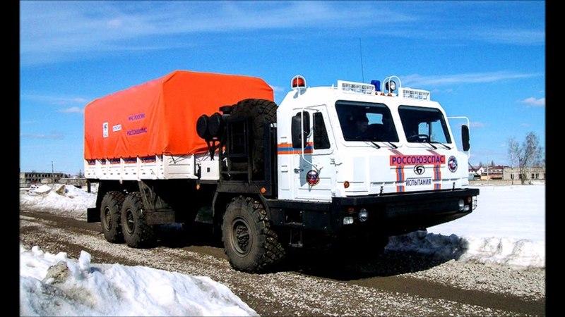 Брянский автомобильный завод создал новый арктический вездеход для МЧС