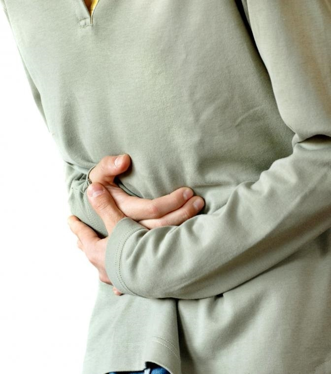 Мышечный спазм может приводить к судорогам в желудке.
