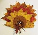 Поделки из осенних листьев - это самый распространенный вид осеннего творчества.