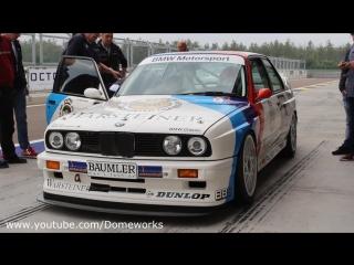 #BMW #M3 #E30 EX-#DTM PURE SOUND on Track - 1987 Champion Ravaglia On Board