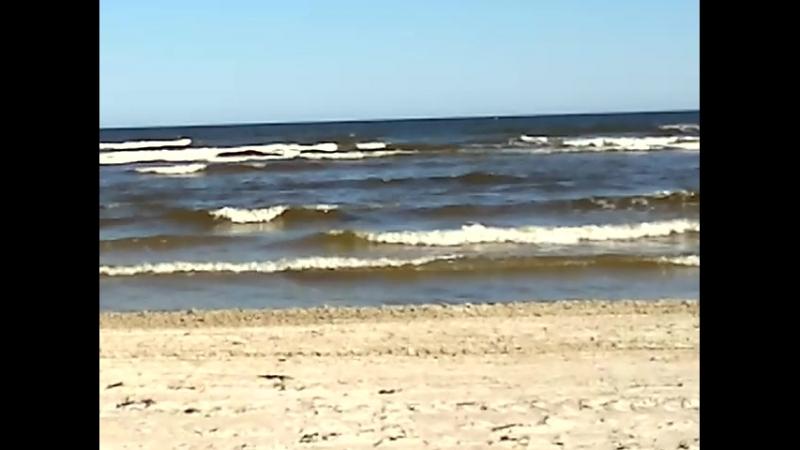 Берег Рижского залива Балтийского моря ра н Каугури Красота и умиротворение