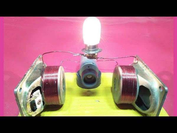 How to make free energy generator with magnet speaker motor electric generator new technology