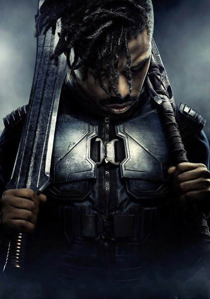 Image result for michael b jordan black panther
