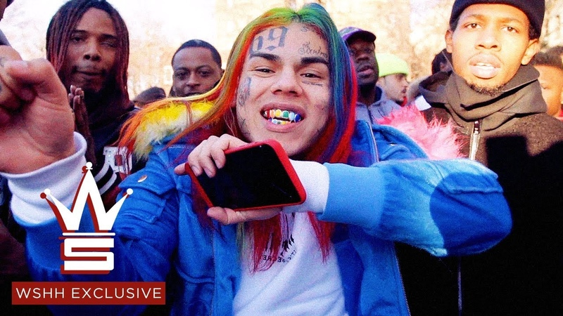 "6IX9INE Feat. Fetty Wap A Boogie ""KEKE"" (WSHH Exclusive - Official Music Video)"