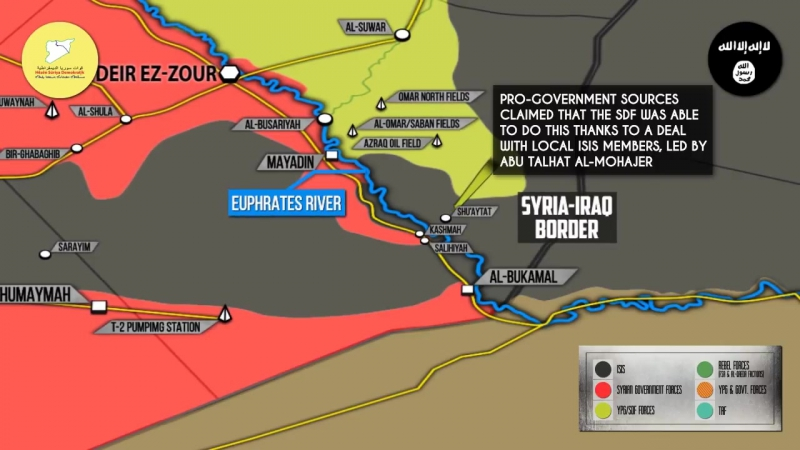 Syrian War Report – November 20, 2017: Government Troops Liberated Al-Bukamal From ISIS