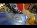 XR250 Baja Вытяжка вмятины на баке Нет спецклюшек для правки из нутри