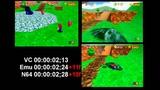 Super Mario 64 Load Time Comparison