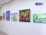 Акриловое ассорти в выставочном зале ГЦК! Горожан пригласили для постижения интуитивной живописи Марины Буровой.
