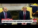 President Trump welcomes Josh Holt, American held in Venezuela, back to the US