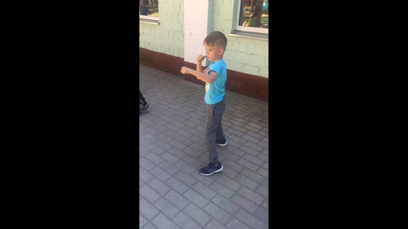 Самый маленький наш боксёр 6лет