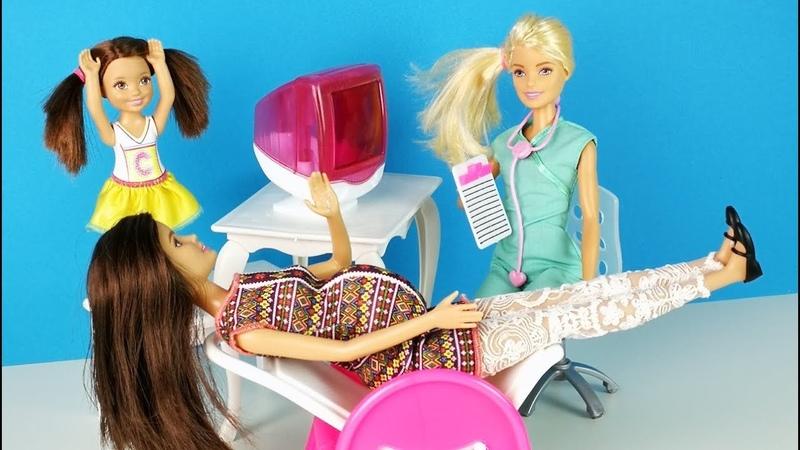 ЧТО СЛУЧИЛОСЬ С МАМОЙ ? Мультик Барби Куклы для девочек Канал про Школу Ikuklatv
