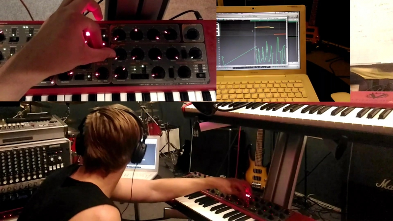 Clavia Nord lead | Making neuro bass.
