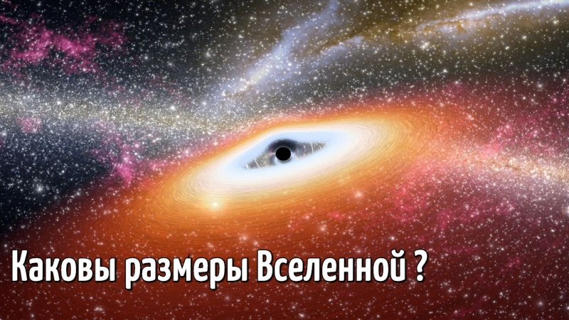 Каковы размеры Вселенной? / How Big is the Universe?